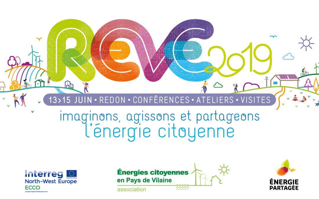 REVE 2019: les rencontres européennes de l'énergie citoyenne à Redon du 13 au 15 juin – COMPLET