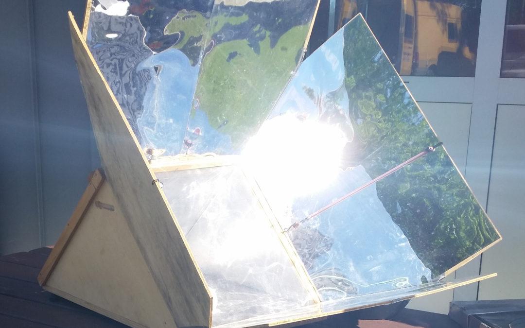 19/06 : fabriquez votre four solaire pour cet été