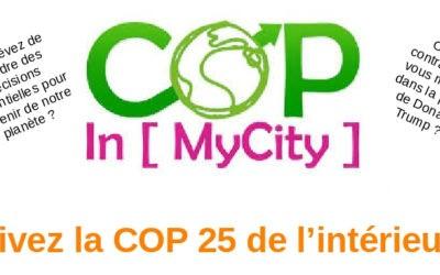 COP In [ MyCity ] – 05/12 – Redon : EPV organise un jeu de rôle pour vivre la COP 25 de l'intérieur