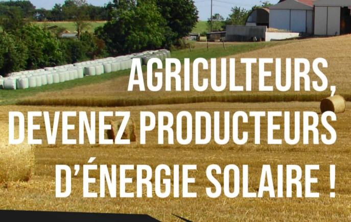28/01/2020 : journée d'information sur l'énergie solaire pour les agriculteurs