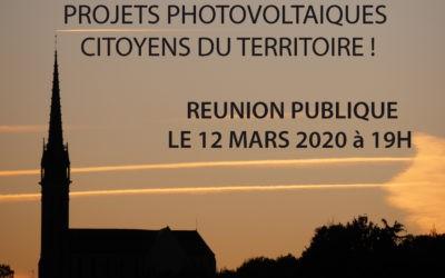 12 mars et 4 avril : réunions publiques pour devenir coproducteur d'électricité solaire en Pays de Vilaine !