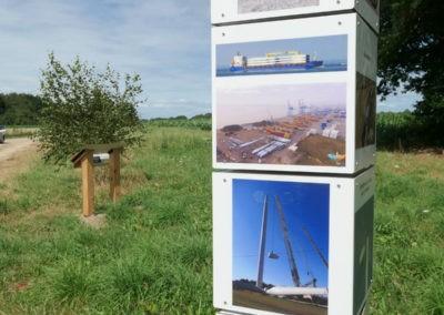 La construction des éoliennes