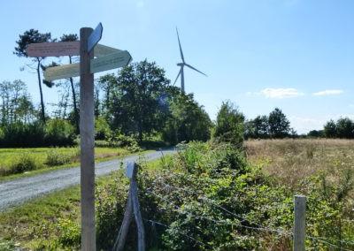 Parcours d'éolienne en éolienne