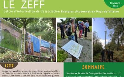 Nouveau numéro du Zeff, la lettre d'information d'EPV