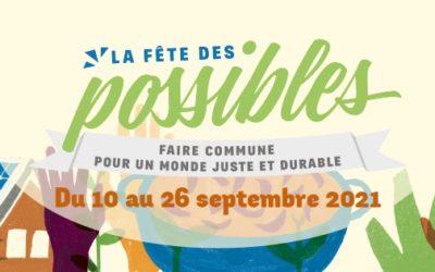18/09 : EPV sera présente à la Fête des Possibles à Redon